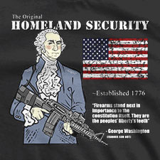 THE ORIGINAL HOMELAND SECURITY GEORGE WASHINGTON
