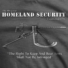 THE ORIGINAL HOMELAND SECURITY MACHINE GUN