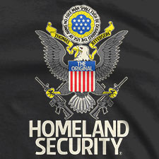 THE ORIGINAL HOMELAND SECURITY THE GREAT SEAL OF THE UNITED STATES